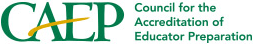 Accredited by the National Council for the Accreditation of Teacher Education/Council
